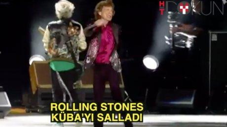 Rolling Stones Küba'yı salladı