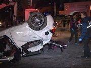 Beşiktaş'ta feci kaza: 1 ölü 2 yaralı