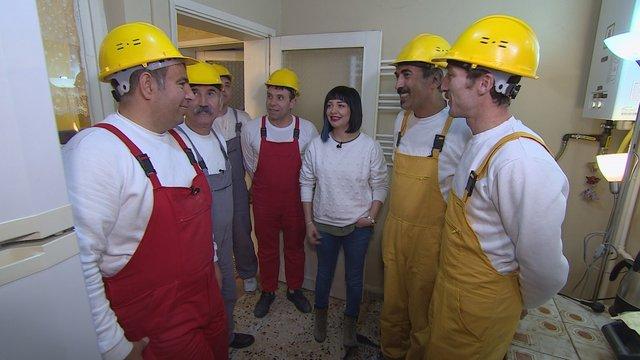 Sonnur Hanım'ın mutfağı için hazırlıklar başladı