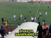 Sivas amatörde saha karıştı