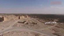 Palmira kentinin son görüntüleri yayınlandı