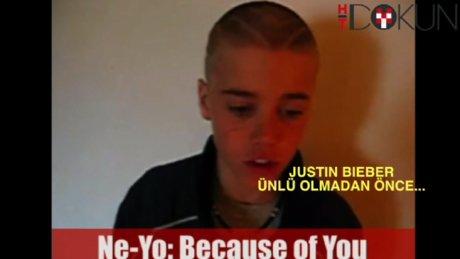 Justin Bieber ünlü olmadan önce