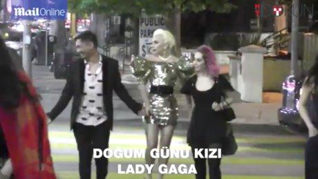 Gaga'nın şöhretli doğum günü partisi