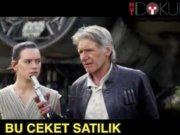 Harrison Ford'un deri ceketi satılık
