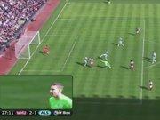 West Ham kalecisinden müthiş gol