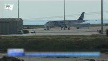 Kaçırılan uçağın ilk görüntüleri