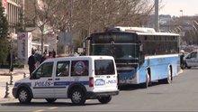 Ankara'da özel halk otobüsü, bomba ihbarı üzerine durduruldu