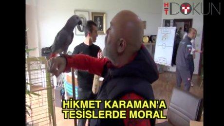Hikmet Karaman'a horonlu moral