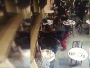 Nişantaşı'nda kafedeki silahlı saldırı anı kamerada