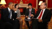 Beyaz Saray'da kritik görüşme