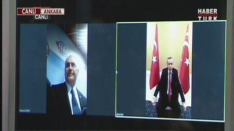 Cumhurbaşkanı Erdoğan 4.5G ile ilk kez bağlandı