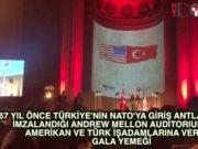 Erdoğan, gala yemeğinde konuştu
