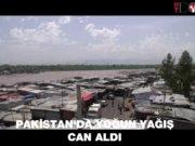 Pakistanda yoğun yağış can aldı