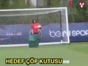 David Luiz ile Moura'nın çöp kutusuyla imtihanı