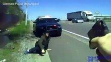 Amerikan polisi ''Beni öldür'' diye bağıran zanlıyı vurdu