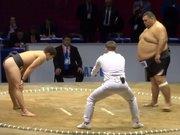 Kalıbının adamı olmayan sumo güreşçisi