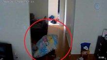 Yorgan altından soygun yapan hırsız
