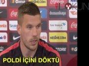Podolski: Favorim Beşiktaş