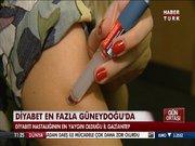 Diyabet en fazla Gaziantep'te yaygın