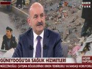 Sağlık Bakanı Müezzinoğlu Habertürk TV'de