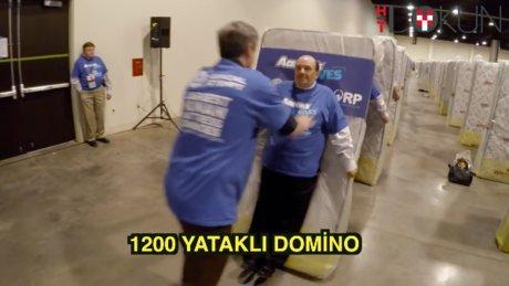 1200 yataklı domino