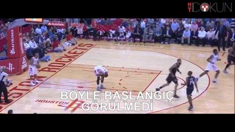 NBA'de çok konuşulan hareket
