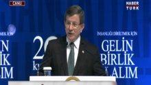 Başbakan Davutoğlu Kutlu Doğum programında konuştu
