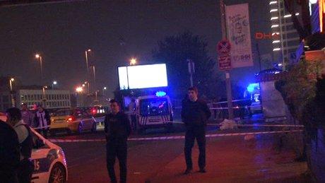 Mecidiyeköy'de patlama meydana geldi