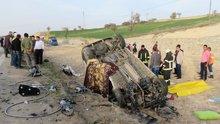 Konya'da cenaze aracı kaza yaptı: 4 ölü, 2 yaralı