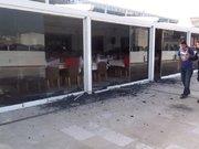 Suriye'den gelen mühimmat, otelin 4. katına isabet etti