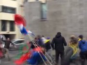 Paris'te Ermenistan protesto edildi