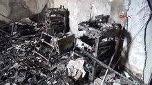 Pkk'lılar Van'da okul yaktı