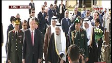 Suudi Kral Ankara'da