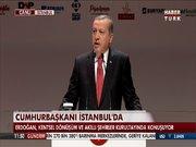 Cumhurbaşkanı Erdoğan Kentsel Dönüşüm Kurultayı'nda konuştu