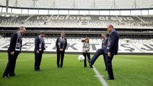 Vodafone Arena'da başlama vuruşu Erdoğan ve Davutoğlu'ndan