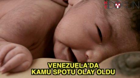 Venezuela'da olay spot