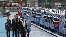 S. Arabistan kralı beştepe'de