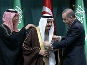 Cumhurbaşkanı Erdoğan, Suudi Arabistan kralı Selman'a devlet nişanı taktim etti