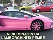 Nicki Minaj'ın pembe Lamborghini'si