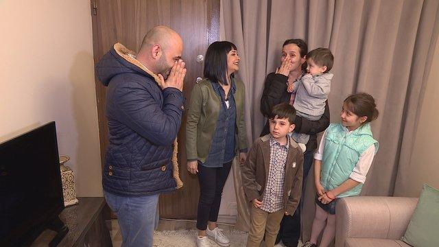 Ev Kuşu'nda Aksoy ailesinin mutluluk gözyaşları...