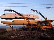 Restoran uçakta montaj tamamlandı