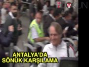 Antalya'da Aslan'a sönük karşılama
