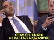 Obama'nın maaşı Putin'in 3.5 katı