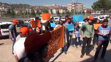 Burhan Kuzu'yu protesto eden 17 kişi gözaltına alındı