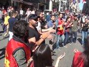 İstiklal Caddesi'nde Grup Yorum'a destek eylemine polis müdahalesi