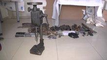 """PKK'nın Yüksekova'daki """"silah tamirhanesi"""" bulundu"""