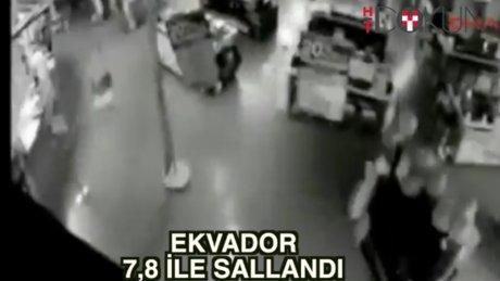 Ekvador 7.8 ile sallandı