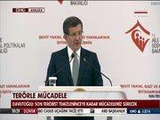 Başbakan Davutoğlu şehit yakınlarıyla biraraya geldi
