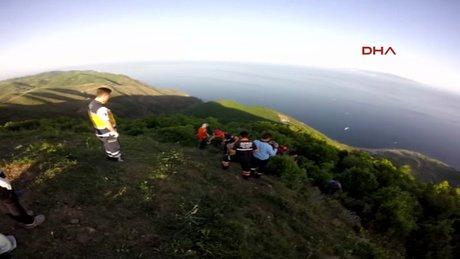 Tekirdağ 17 Yaşındaki paraşütçü ağaçlık alana çakıldı