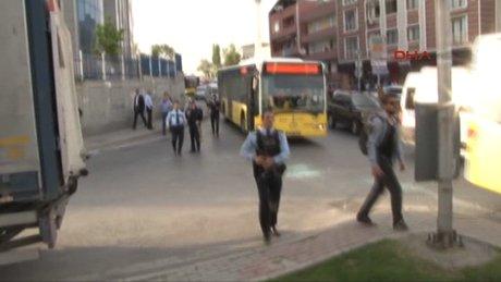 İstanbul'da Çevik Kuvvet ekibine silahlı saldırı